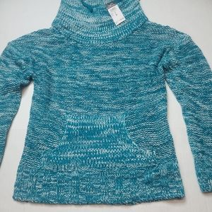 RUE 21 wide Neck Draw String Sweater Size M